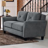 Lifestyle solutions Hardy Rolled Arm Loveseat Sofa