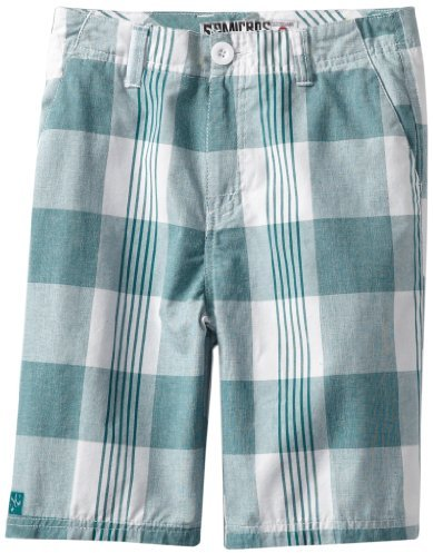 Micros Boys 8-20 Oracle Plaid Short