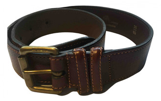 Mulberry Brown Leather Belts