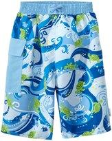 I Play Boys' Tropical Swim Trunks w/Builtin Swim Diaper (6mos-4T) - 8145766