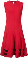 Alexander McQueen bow detail dress - women - Polyester/Viscose - S
