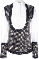 J.W.Anderson studded panel shirt
