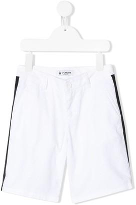 Dondup Kids Knee Length Side Stripe Shorts
