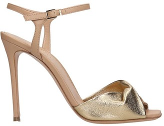 Lerre Sandals In Gold Leather