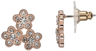 Lauren Conrad Flower Cluster Nickel Free Stud Earring Set