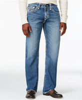 True Religion Men's Ricky Relaxed Straight Fit Light Wash Jeans