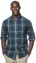 Chaps Men's Oversized Check Button-Down Shirt