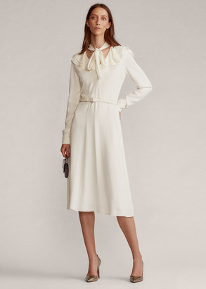 Ralph Lauren Zandra Crepe Day Dress