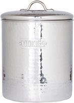 Old Dutch International Hammered Stainless Steel Cookie Jar