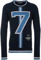 Dolce & Gabbana striped 7 jumper