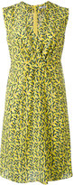 Cacharel printed v-neck dress - women - Silk - 40