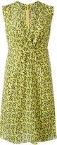 Cacharel - printed v-neck dress -