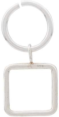 Maya Magal square outline hoop earring