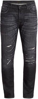Nudie Jeans Lean Dean Distress Tapered Jeans