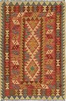 Ecarpetgallery Hand-woven Anatolian Kilim Geometric 3' x 4' 100% Wool area rug