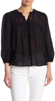 Sugar Lips Born to be Yours Eyelet Knit Top