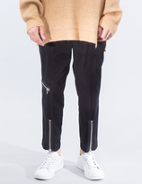3.1 Phillip Lim Military Zipper Cropped Trousers