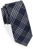 Black Brown 1826 Plaid Silk Tie