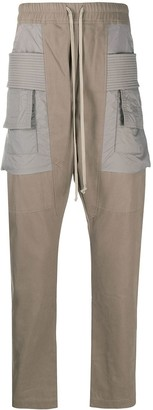 Rick Owens Drawstring Cargo Trousers