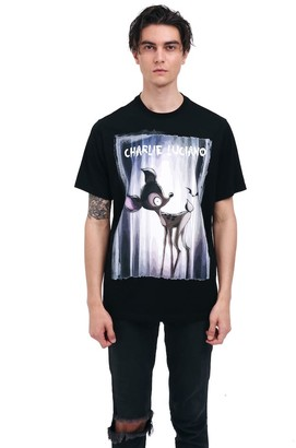 Charlie Luciano Bambi Unisex Print T-Shirt