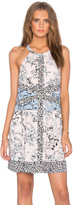 BCBGMAXAZRIA Sharlot Floral Midi Dress