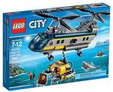 Lego ; City Deep Sea Explorers Helicopter 60093