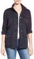 Women's Two By Vince Camuto Stretch Sateen Cargo Jacket