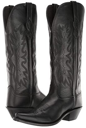 Old West Boots Chloe (Black) Cowboy Boots