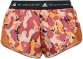 adidas by Stella McCartney camouflage print running shorts