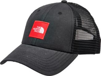 The North Face Box Logo Trucker Snapback Hat