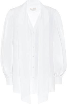 Alexander McQueen Cotton blouse