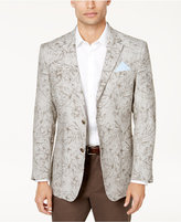 Tasso Elba Men's Floral Print Linen Sport Coat, Created for Macy's