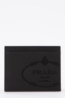 Prada Saffiano Embossed Card Holder