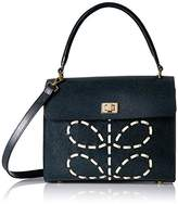 Orla Kiely Laced Stem Leather Cicely