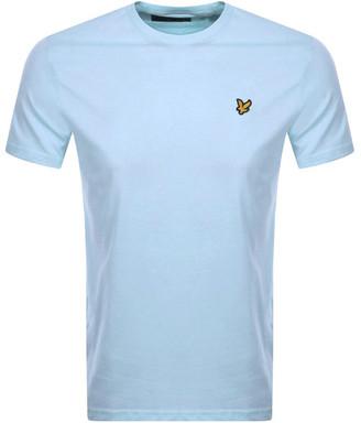 Lyle & Scott Crew Neck T Shirt Blue