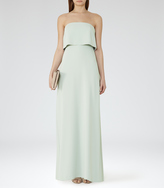 Reiss Amber DOUBLE-TIER MAXI DRESS