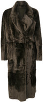 Drome oversized fur coat