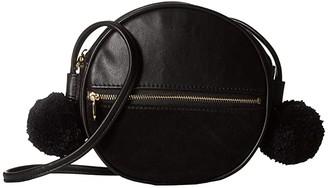 ban.do Sidekick Crossbody Circle Bag (Onyx) Handbags