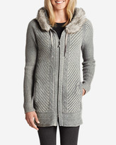 Eddie Bauer Women's Shasta Full-Zip Hoodie Sweater
