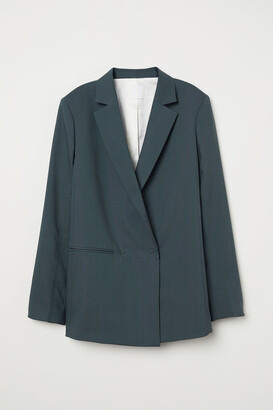 H&M Double-breasted Wool Jacket
