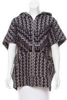 Mara Hoffman Patterned Short Sleeve Jacket w/ Tags