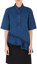 Marni Women's Cotton Asymmetric-Hem Top