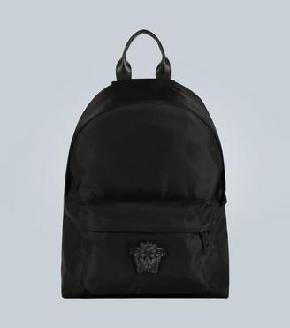 Versace Medusa head nylon backpack