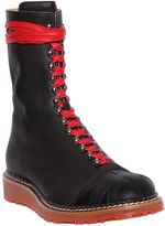 Vivienne Westwood Smooth Leather Bowling Style Boots