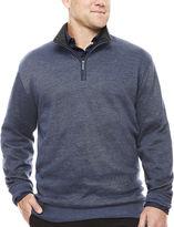 Van Heusen Quarter-Zip Pullover Big & Tall