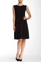 Nine West 10570402-169 Jewel Cap Sleeves Cocktail Dress