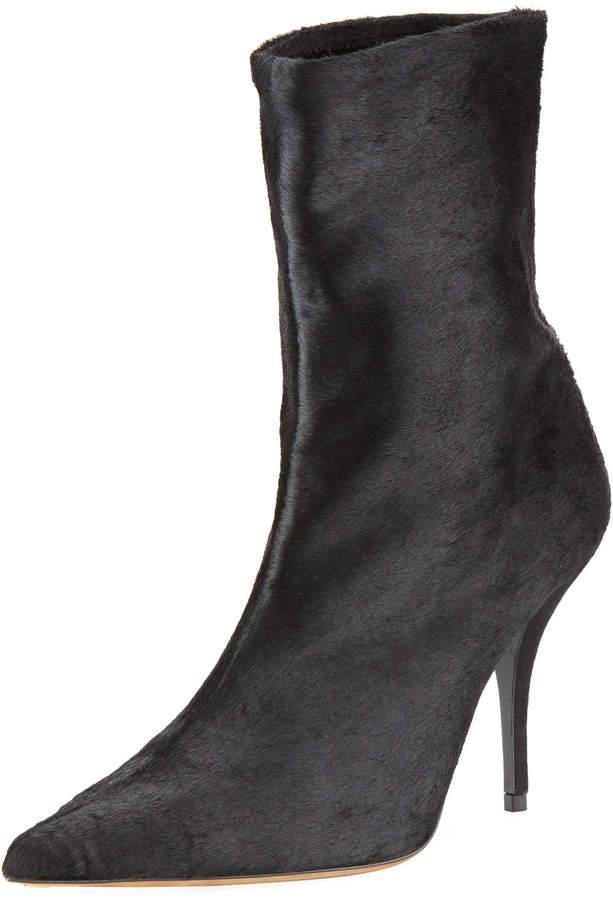 Tabitha Simmons Eldon Stretch Fur Booties