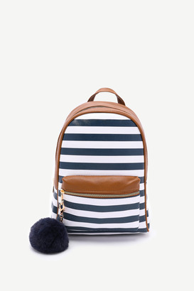 Ardene Breton Stripe Backpack