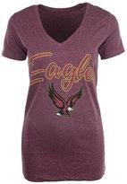 Royce Apparel Inc Women's Short-Sleeve Boston College Eagles V-Neck T-Shirt