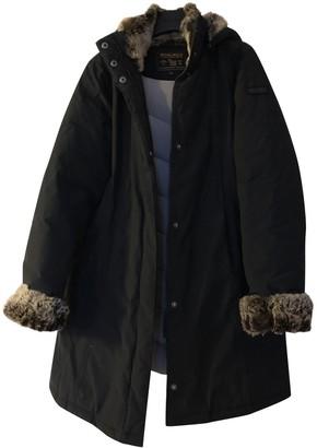 Woolrich Navy Coat for Women
